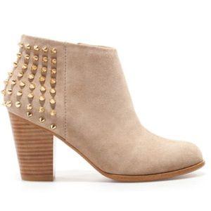 Zara studded booties
